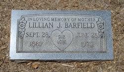 Lillian J. <i>Jones</i> Barfield