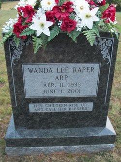 Wanda Lee <i>Raper</i> Arp