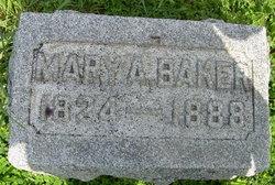 Mary A. <i>Groves</i> Baker