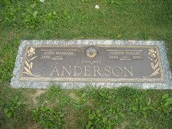 Judith <i>Follet</i> Anderson