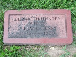 Elizabeth <i>Hunter</i> Henry