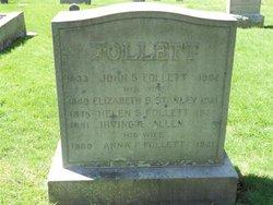 Anna F <i>Follett</i> Allen