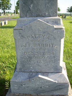 Patty A. <i>Kimball</i> Babbit