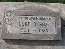 Cora Darthula <i>Hicks</i> Baze