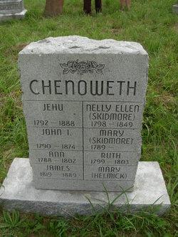Jehu Ichell Chenoweth
