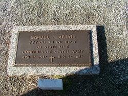 Pvt Lemuel Lawrence Ariail