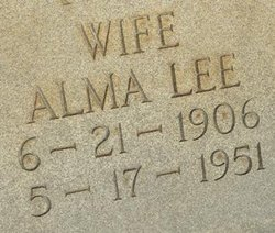 Alma Lee <i>Sheffield</i> Morgan