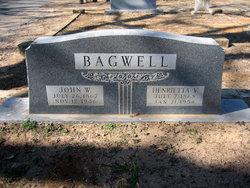 Henrietta Victoria <i>Barrow</i> Bagwell