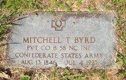 Pvt Mitchell Taylor Byrd