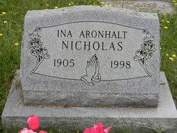 Ina Aronhalt <i>Aronhalt</i> Nicholas