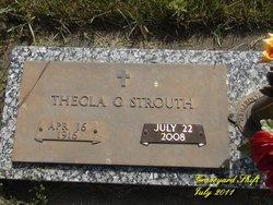 Thecla Genevieve Tec <i>Eisenbacher</i> Strouth