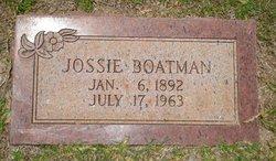 Josie <i>Newman</i> Boatman