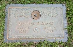 Bessiline D. Adams