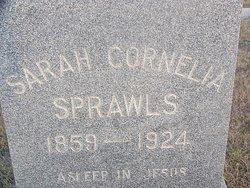 Sarah Cornelia <i>Stallings</i> Sprawls