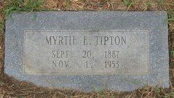 Myrtle E Tipton