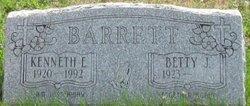 Betty J <i>Hull</i> Barrett