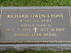Richard Owen Dick Lyons