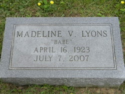 Madeline V Babe Lyons