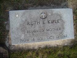 Ruth E Kiple