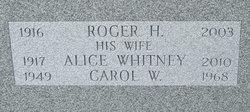 Alice <i>Whitney</i> Beadle