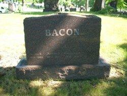 Margaret Elizabeth Bessie <i>Wilson</i> Bacon
