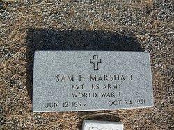 Sam H Marshall