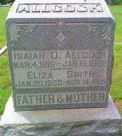 Nancy Eliza <i>Smith</i> Allcock