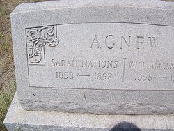 Sarah <i>Nations</i> Agnew
