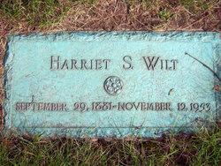 Harriet Sadie Hattie <i>Atchison</i> Wilt