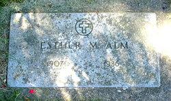 Esther Marie <i>Elden</i> Alm