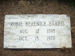 Rubie Berenice Barris