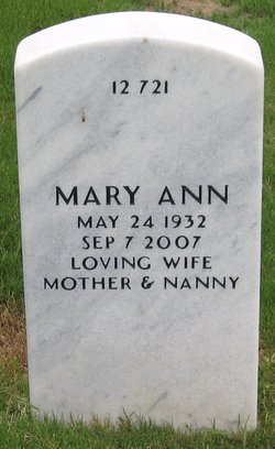 Mary Ann <i>McCauley</i> Bacon