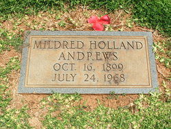 Mildred <i>Holland</i> Andrews