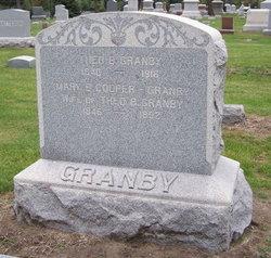 Mary E <i>Cooper</i> Granby