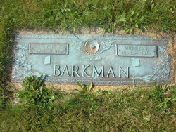 Mildred Harriet <i>Hardman</i> Barkman
