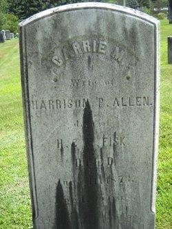 Carrie M. <i>Fisk</i> Allen