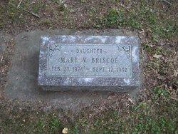 Mary V Briscoe