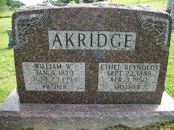 Ethel <i>Reynolds</i> Akridge