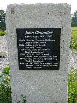 Rev John Chandler