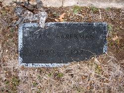 Ita E. <i>Stone</i> Barekman