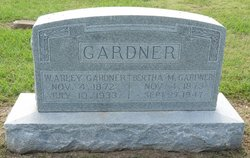 Bertha Millicent <i>Cassler</i> Gardner
