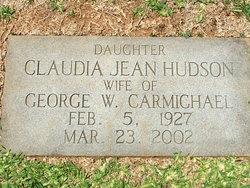 Claudia Jean <i>Hudson</i> Carmichael