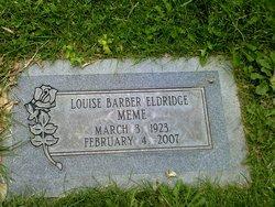 Louise Meme <i>Rackley</i> Barber Eldridge