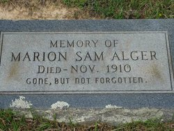 Marion Samuel Sammie Alger