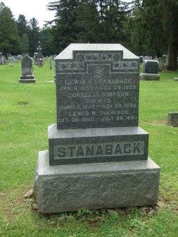 Cornelia <i>Simpson</i> Stanaback