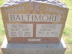 Aaron T Baltimore