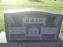 Margene <i>Thomas</i> Bair