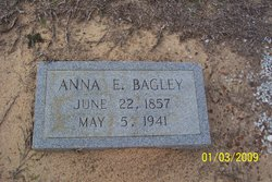 Anna Elizabeth Annie <i>Bennett</i> Bagley