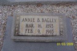 Anne Rebecka Annie <i>Bagley</i> Bagley