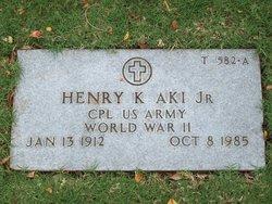 Henry K Aki, Jr